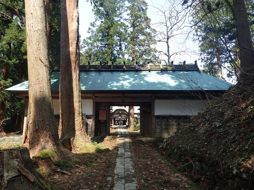 羽黒山斎館