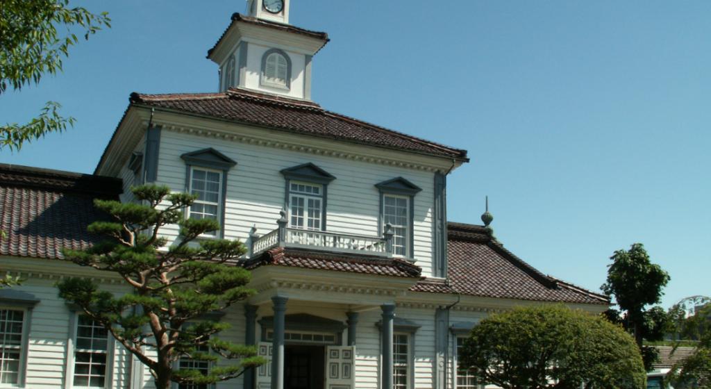 致道博物館(ちどうはくぶつかん)外観写真