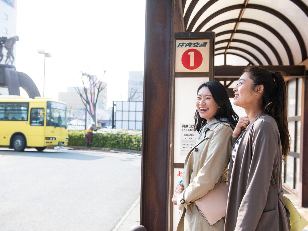 鶴岡駅バス