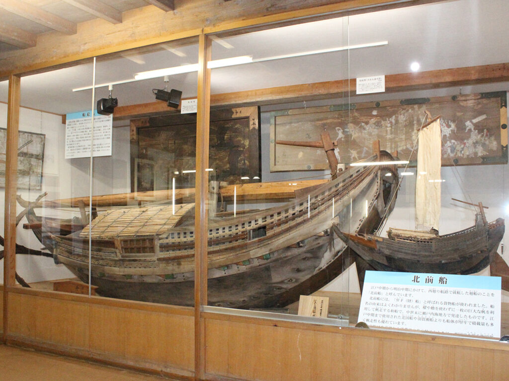 致道博物館 北前船